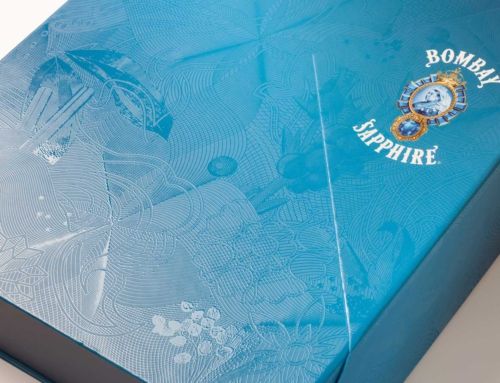 Packaging Bombay Saphire
